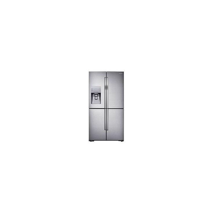 Samsung RF23J9011 36 Inch Wide 23 Cu. Ft. Counter Depth 4-Door French Door Refri Stainless Steel Refrigerators French Door Fridge