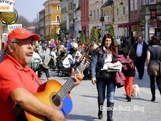 Trubadurul de pe strada Republicii, Brașov