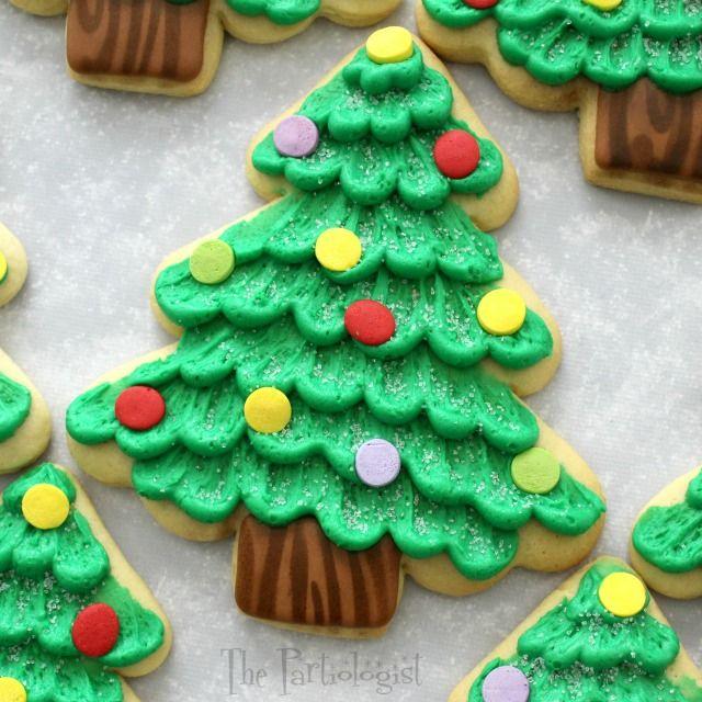 Jumbo Christmas Tree Cookies!