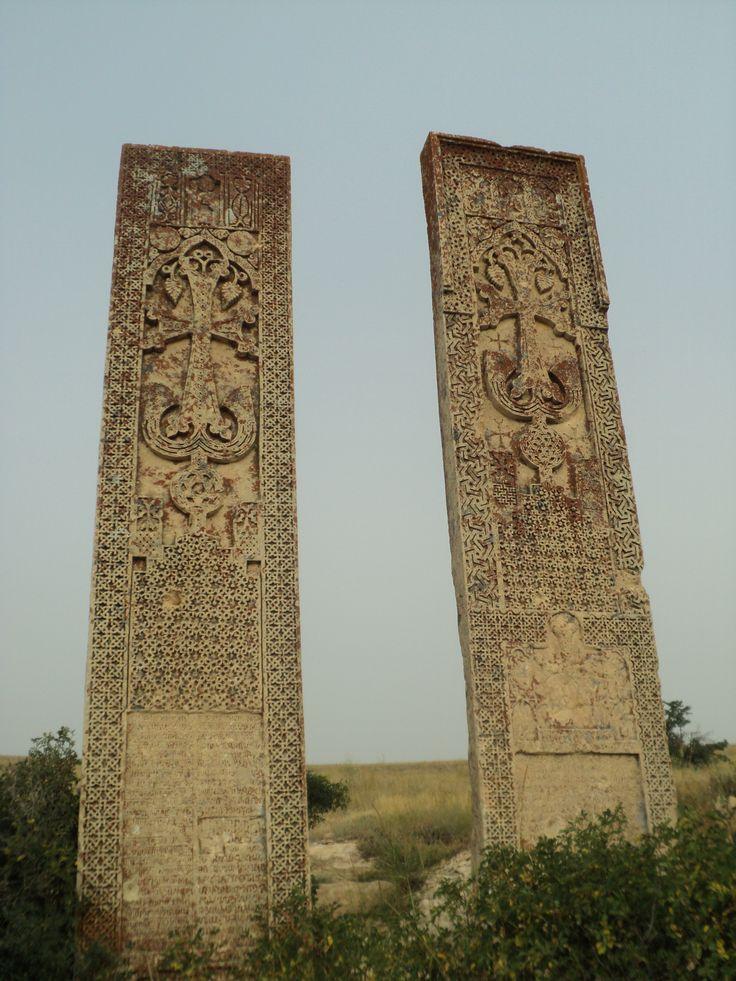 The highest cross-stones of the world, Erzrum, Western armenia