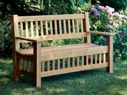 Garden Bench Ideas find this pin and more on outdoor ideas designs garden pass through bench 52 Different Garden Bench Plans For The Mister