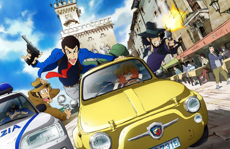 #Lupin III - New anime - First-run in May 2015 in #Italy - #Japan broadcast in november --> http://www.animeclick.it/news/43513-lupin-iii-la-nuova-serie-arriva-a-maggio-in-anteprima-italiana