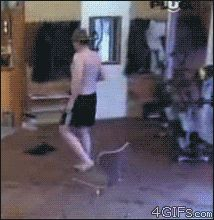 OH MY BOB HOW MEAN BUT I CANT STOP LAUGHING!!!!!!!!   Glue the sandals to the floor prank. (gif)