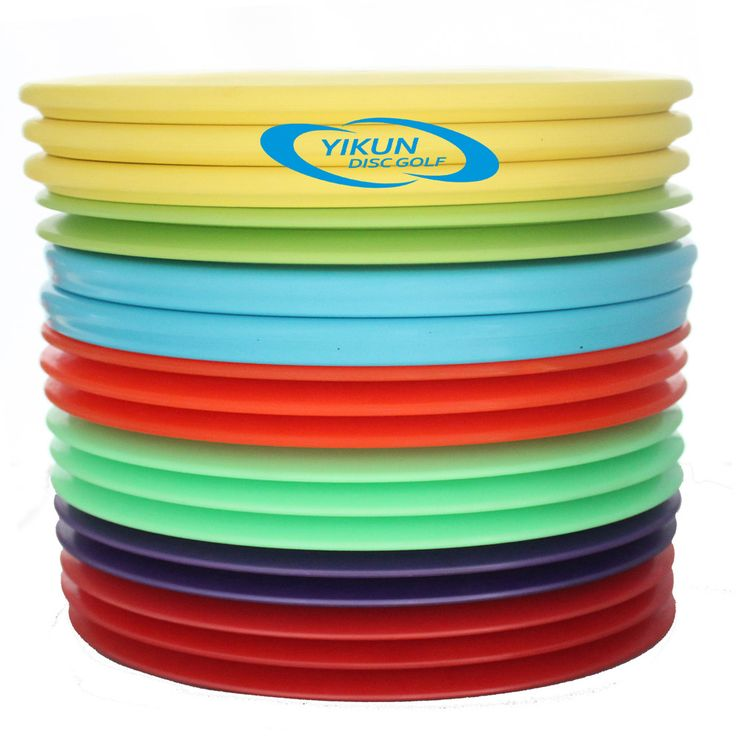 Professional Disc Golf  Tiger Line Misprint Slightly Flaw Four Pieces 2 Mid-range Yellow 2 Driver Red Random Designs