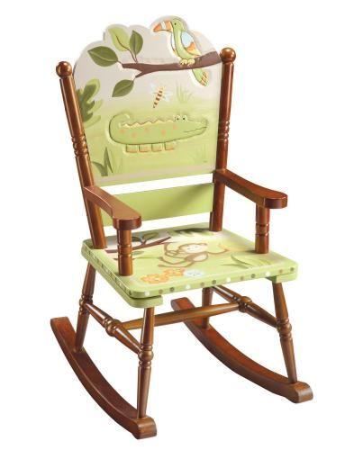 Childrens Rocking Chair - Papagayo Rocking Chair - Guidecraft - G85401