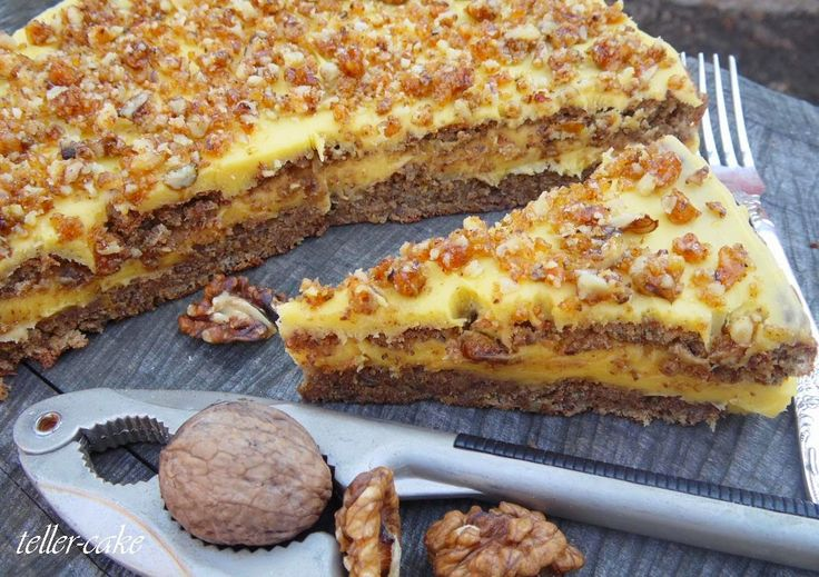 teller-cake: Mennyei diótorta - gluténmentes