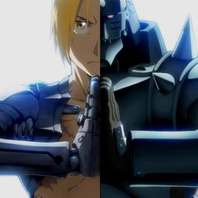 Fullmetal Alchemist. Brotherhood. Alphonse and Edward Elric
