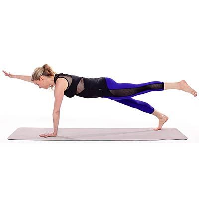 Planks are one of the most effective moves to #strengthen your #abs. Switch things up with these variations that target other muscles, too. 5 new ways to challenge yourself with #planks.  | Health.com