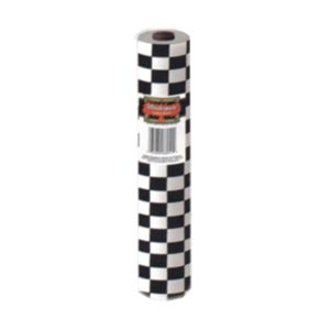 """Plastic Checkered Tableroll (40"""" x 100') Quantity Discounts Available"""