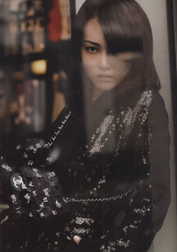 Rinko Kikuchi for Chanel Cruise 2008 Campaign