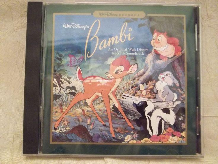 Bambi Original Soundtrack CD Classics Walt Disney Records 1996