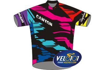 Le maillot de Canyon-SRAM - © Vélo 101