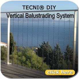Cable Balustrade – Wire Rope Balustrade – Tecni-Cable Ltd
