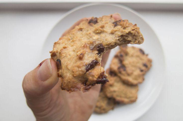 Sunnere peanøtthavrecookies av fire ingredienser! - Vektklubb