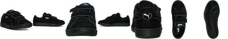 Puma Little Boys' Smash Nubuck Velcro Casual Sneakers from Finish Line