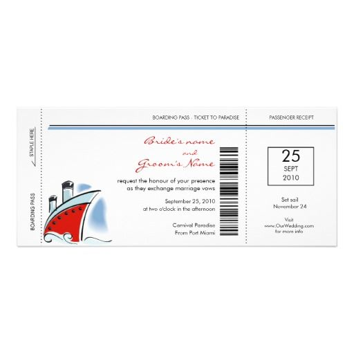 26 best images about boarding pass invite template on