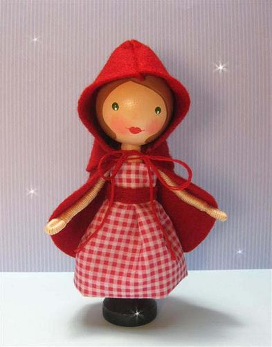 Red Riding Hood (sold) Red has a removeable cape, but no basket yet...| Flickr - Photo Sharing!