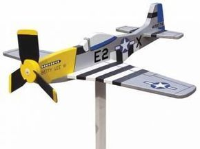 This model P-51 Mustang adds a whimsical touch to your yard or garden Of the various whirligig projects I have designed, the airplanes from World War II are my favorites. The P-51 Mustang was originally designed and built for the British air force. It first saw action in 1940. Later, …