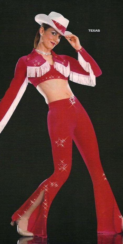 Cheerleaders & Cowgirls - Dance Costumes For Sale