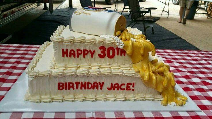 Beer cake / Miller Lite cake