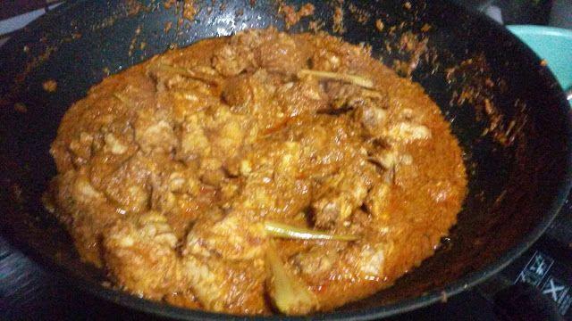 Blog Resepi Shafiqah: Resepi Rendang Ayam Simple Dan Sedap
