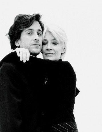 Thomas Dutronc & Françoise Hardy by Kate Barry