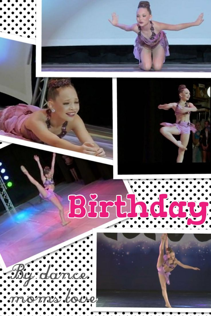 My maddie edit Credit to: dance moms love