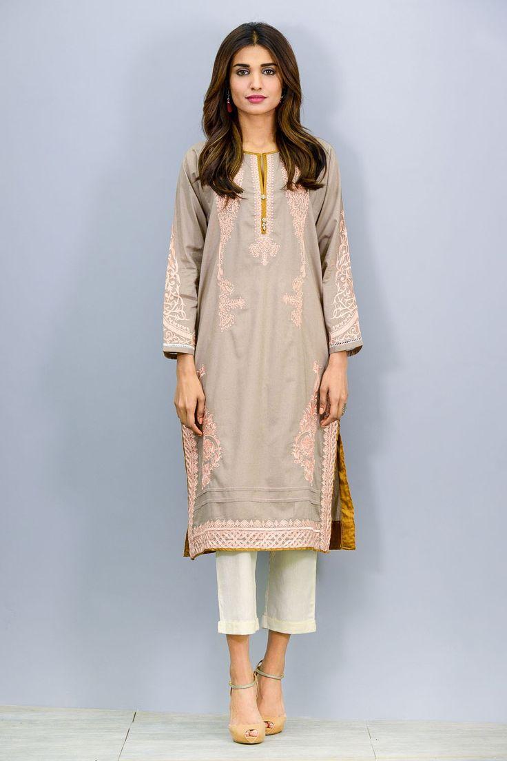 Pretty kurta Khaadi - Embroidered Kurta - Eastern - Prêt - Woman