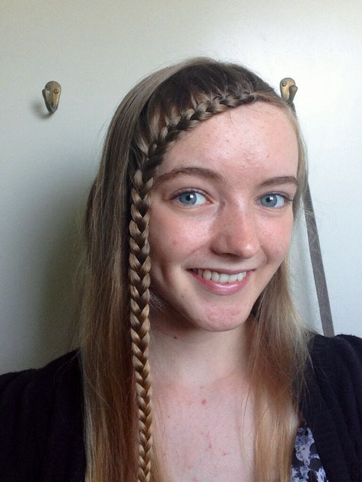 Forehead Lace Braid