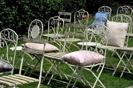 Wrought Iron and Wooden Chairs by Epic Empire   http://www.epicempire.com.au/wrought-iron-garden-chair-1/  http://www.epicempire.com.au/wrought-iron-garden-chair-2/  http://www.epicempire.com.au/wrought-iron-garden-chair-3/  http://www.epicempire.com.au/wooden-outdoor-chair/