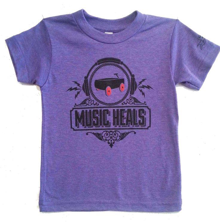 Black Wagon Signature - Music Heals tee at Black Wagon