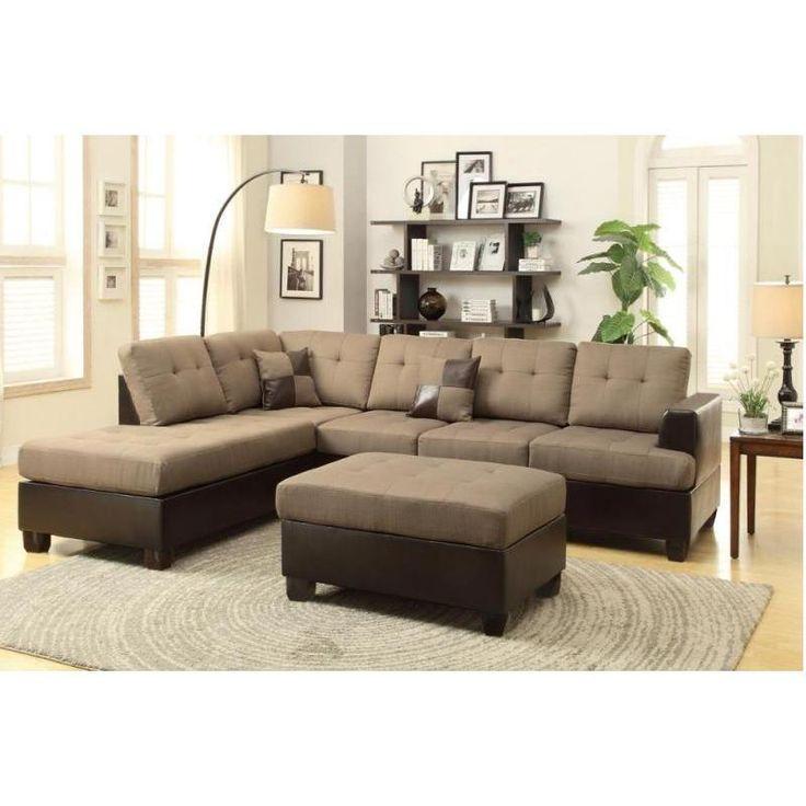 jason 3piece sectional sofa peridot green poly synthetic fiber
