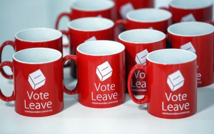 Vote Leave mugs