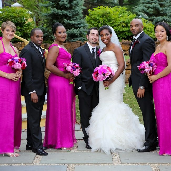 African American Wedding Ideas: Fuschia African American Weddings