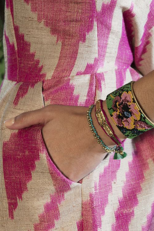 Beaded Botanical Cuff - Noonday Collection