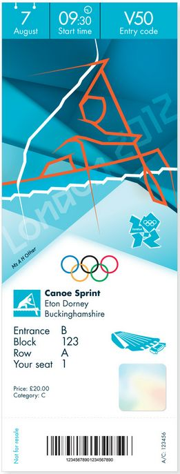 Olympic Ticket Design Released