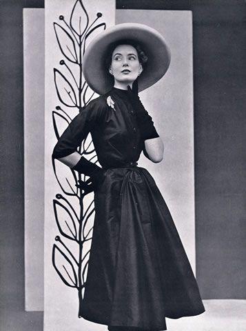 Madeleine de Rauch 1952 Fashion Photography