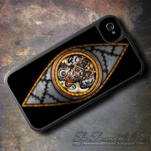 "SOLD! ""Eye On Time"" iPhone 4 Case --> http://su.pr/5rJaOc"