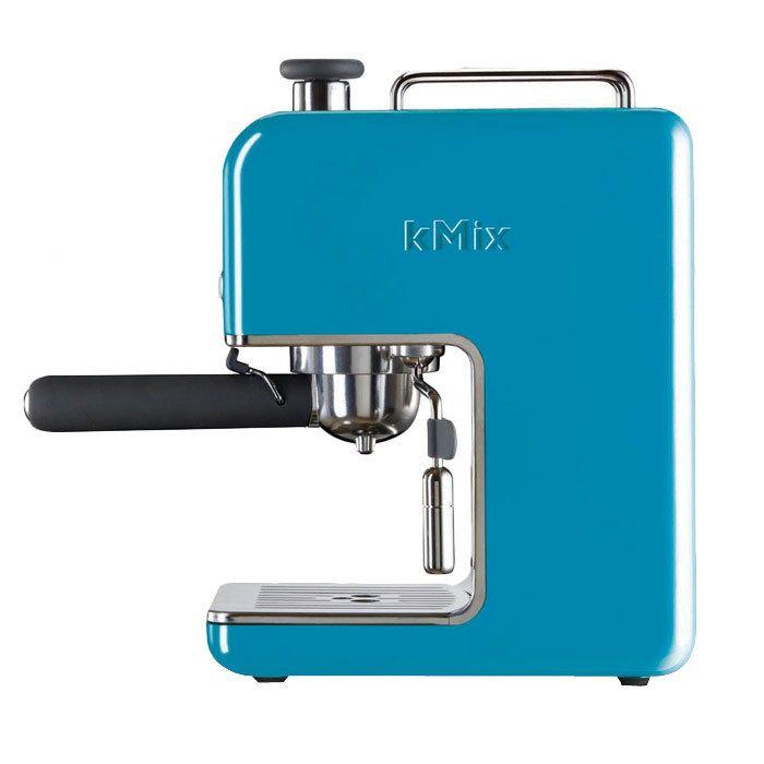 Modern but still retro! Baby blue espresso maker!: Espresso Machine, Blue, 15 Bar, Coffee Maker, Espresso Maker, Pump Espresso, Delonghi Espresso, Kitchen