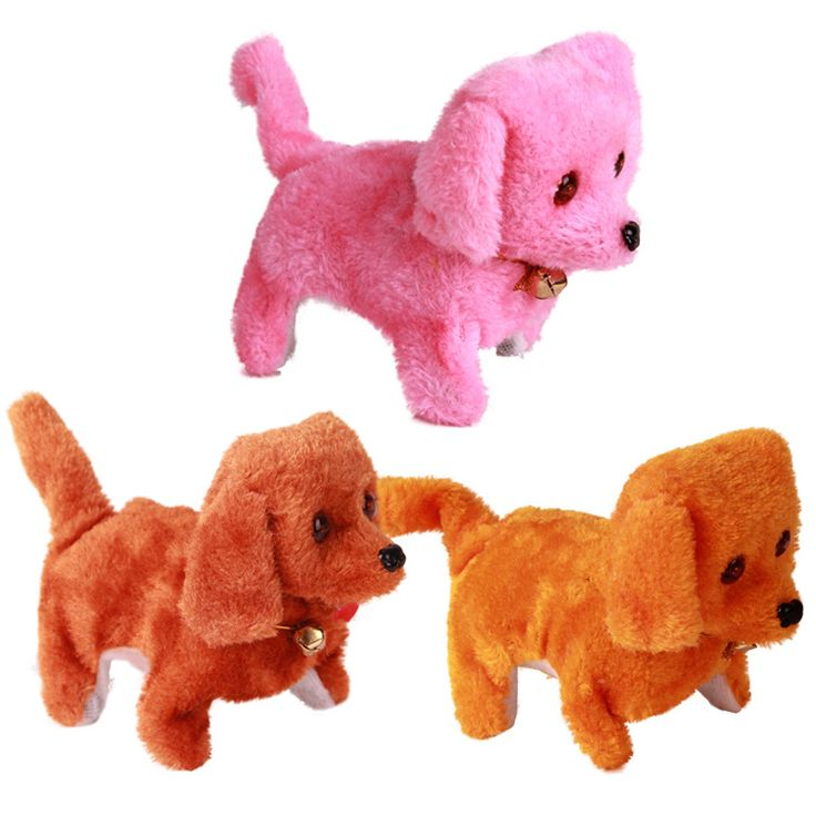 Plush Toy for Kids/Soft Stuffed Electric Toy Dogs/Funny Walking Barking Dog,Electronic Toys