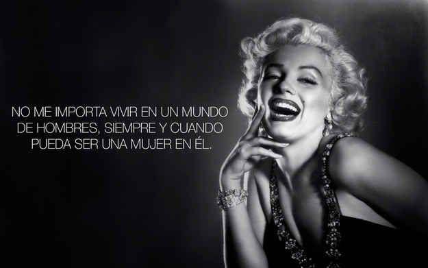 Exacto, Marilyn… Exacto.