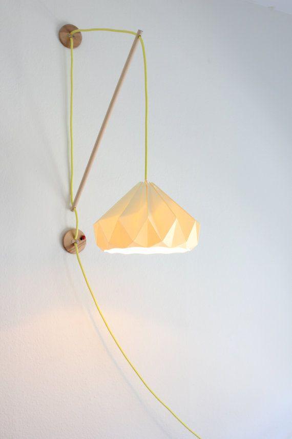 1000 ideas about paper lamps on pinterest paper light diy paper lanterns and paper lanterns - Paper light fixtures ...