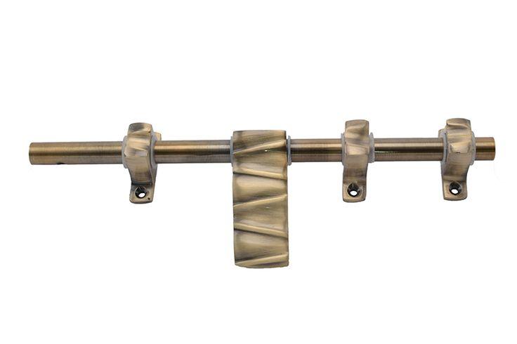 Klaxon ZINQ Brass Latch (Antique Finish, 10 Inch)