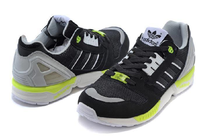 Popularne Biały Adidas Originals Zx 8000 Fluoresceiny Czarny Dla Mężczyzn Butów
