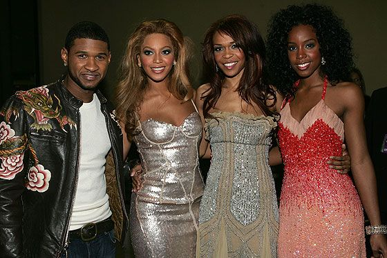 Usher and DC in 2004