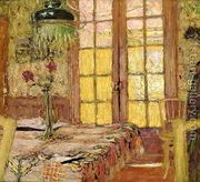 Madame Vuillard in the Dining Room, 1919-25  by Edouard (Jean-Edouard) Vuillard