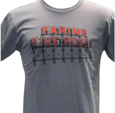 Farine 5 Roses t-shirt for men from Montrealité