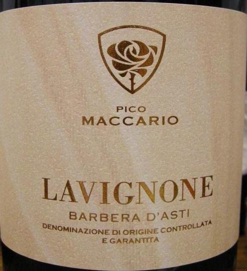 2010 Pico Maccario Barbera d'Asti Lavignone