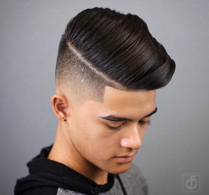 1001 Idees Degrade Progressif L Indemodable Coiffure Homme Coupe De Cheveux Coiffure Homme Cheveux Adolescent