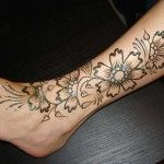 The Beauty Behind henna flower designs